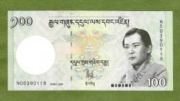 BHUTAN P32  100  NGULTRUM     2006     UNC. - Bhoutan