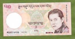 BHUTAN       P31 50 NGULTRUM   2008    UNC. - Bhutan
