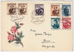 1952, Privat-GA , Portogerecht, Kl. Walsertal! , # A 1671 - 1945-60 Briefe U. Dokumente