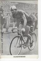 ROGER  HASSENFORDER    SIGNEE   OFFERT PAR FRANCE SOIR - Cyclisme