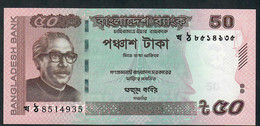 BANGLADESH P56f 50 TAKA  2016  UNC. - Bangladesh
