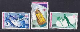 BENIN AERIENS N°  248 à 250 ** MNH Neufs Sans Charnière, TB (D7910) Jeux Olympiques D'hiver à Innsbruck - 1976 - Benin - Dahomey (1960-...)