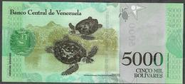 VENEZUELA NLP 5000 BOLIVARES  25 March 2017   UNC. - Venezuela