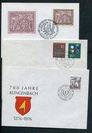 Belegeposten / 15 Belege (1/881-60) - Briefmarken