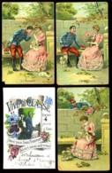 Lot De 12 Cartes Postales Dont Guerre 14-18 Et Fantaisie - Bon état - Cartes Postales