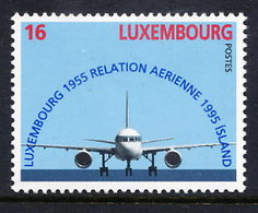 LUXEMBOURG 1995 Air Connection With Iceland MNH / **.  Michel 1374 - Luxembourg