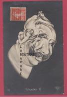 POLITIQUE--Carte Arcinboldesque--Guillaume II--Illustrateur-Arcimboldo - Personnages