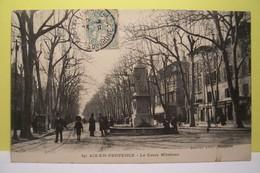 AIX  EN  PROVENCE   -   Le  Cours   Mirabeau - Aix En Provence