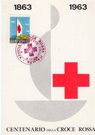 Centenario Della Croce Rossa - 1863 - 1963  - Fatti Socio Anche Tu ! - Croce Rossa