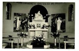 Domus Mariae - Neuville Sur Saône - Intérieur De L'Oratoire De N6D Des Sept-Douleurs (autel, Statue & Tableaux) 1955 - Neuville Sur Saone
