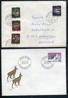 Schweiz / Belegeposten, 14 Belege (1/892-70) - Briefmarken