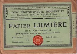 """Enveloppe Scellée, Intacte, D'origine, Contenant 12 Feuilles De Papier """"Lumière-Jougla"""" Au Citrate D'argent. T Bon état. - Materiaal & Toebehoren"""