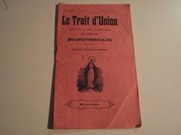 BOURGTHEROULDE, Bulletin Paroissial Mensuel, Oct 1925, Le Trait D'Union - Newspapers