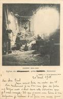 GUERRE 1914 1915 EGLISE DE MEHARICOURT ECRITE EN 1915 - Guerre 1914-18