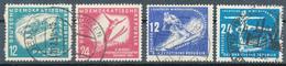 DDR - 1950/1 , Wintersportmeisterschaften: Bobfahren , Skispringen, Abfahrtslauf, Eiskunstlauf - Hiver
