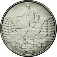 Monnaie, Brésil, 10 Cruzeiros, 1991, SPL, Stainless Steel, KM:619.1 - Brésil
