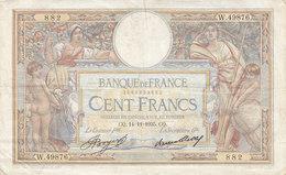 Billet 100 F L. O. Merson Du 14-11-1935 FAY 24.14 Alph. W.49876 - 1871-1952 Anciens Francs Circulés Au XXème