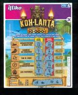 Grattage FDJ - FRANCAISE DES JEUX - KOH LANTA 56801 - Billets De Loterie