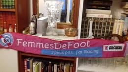 ECHARPE FEMME DE FOOT RCS - Habillement, Souvenirs & Autres