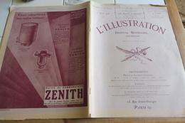 "L'ILLUSTRATION 7 AVRIL 1928 -CARCASSONNE-TOUR CHARLEMAGNE A TOURS-AQUARELLES ""PORT CASSIS""/SBEITA- - L'Illustration"