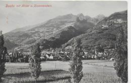 AK 0108  Buchs Mit Alvier Und Krummenstein Um 1908 - SG St. Gallen