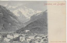 AK 0108  Interlaken Und Jungfrau Um 1905-10 - BE Bern