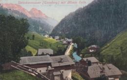 AK - Fraktion ZWISCHENWASSER (Gem. Enneberg) Mit Monte Sella 1905 - Italia