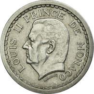 Monnaie, Monaco, Louis II, 2 Francs, Undated (1943), Poissy, TTB, Aluminium - Monaco