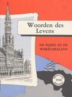 Woorden Des Levens: Boekje Van De Kerk Voor Expo 58 Te Brussel - Toeristische Brochures