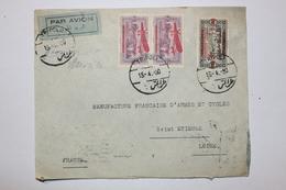 Lettre Par Avion Du LIBAN - Tripoli à St Etienne En 1930 - Lebanon
