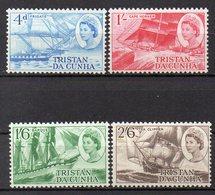 TRISTAN DA CUNHA  Timbres Neufs ** De 1969  ( Ref 5898 ) Tansports - Baeaux - Voiliers - Tristan Da Cunha