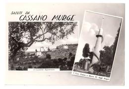 Saluti Da Cassano Murge (Bari) - Vedutine - Viaggiata 1965 - Bari