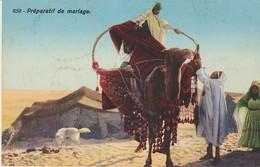 C. P. A. - TUNISIE - PRÉPARATIF DE MARIAGE - 658 - LEHNERT & LANDROCK - - Túnez