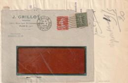Vieux Papiers - Enveloppe Illustrée GRILLOT PARIS  Et Sa Facture - 1900 – 1949