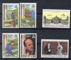 TRISTAN DA CUNHA  Timbres Neufs ** De 1974 Et 1981  ( Ref 5902) Famille Royale - Churchill - Tristan Da Cunha