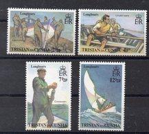 TRISTAN DA CUNHA  Timbres Neufs ** De 1972  ( Ref 5903) Transports - Bateaux - Tristan Da Cunha