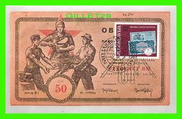FDC - JUGOSLAVIJA -  1944-1984 - DENARNI ZAVOD SLOVENIJE - - Cartes-maximum