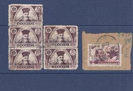 Timbre D'INDOCHINE SURCHARGES VIETNAM OBLITERES D'EPOQUE - Indochine (1889-1945)