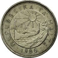 Monnaie, Malte, 10 Cents, 1986, British Royal Mint, TTB, Copper-nickel, KM:76 - Malte