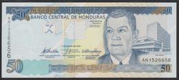 Honduras 50 Lempiras 2010 P94b UNC - Honduras
