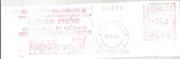 FRANQUEO MECANICO ZARAGOZA 1983 FRAGMENTO 15X6 - Marcofilia - EMA ( Maquina De Huellas A Franquear)