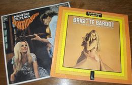 2 LP 33 T Collection Record AZ Par Brigitte Bardot & Hommages Par Manitas De Plata - Collector's Editions