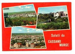 Saluti Da Cassano Murge (Bari) - Tre Vedutine - Viaggiata 1969 - Bari
