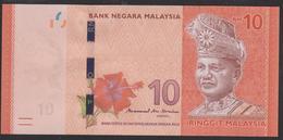 Malaysia 10 Ringgit 2017 P53b UNC - Malaysie