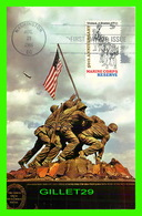 FDC - IWO JIMA STATYE, ARLINGTON, VA - MARINE CORPS RESERVE 1956 - - Cartes-Maximum (CM)