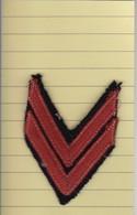 T 6) Écusson Tissu Militaire Ou Autre:   Gallon - Patches