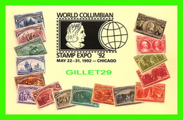 FDC - WORLD COLUMBIAN STAMP EXPO 1992 IN CHICAGO - B. SHACKMAN & CO - - Cartes-Maximum (CM)