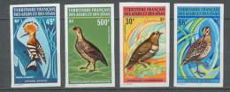 1603 Afars Et Issas 1972 PA N° 68/71** MNH COTE 140 EUROS Oiseaux (birds) - Non Dentelé Imperforate ** MNH - Perdrix, Cailles