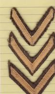 T 6) Écusson Tissu Militaire Ou Autre:   Gallons - Patches