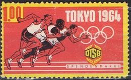 TOKYO 1964 - Commemorative Labels